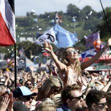 Glastonberio muzikos festivalis antrąkart atšaukiamas dėl koronaviruso