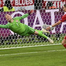 """""""Euro 2020"""": Anglija nugalėjo Daniją ir žengė į finalą"""