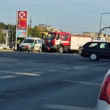 Per dviejų automobilių avariją Muravos sankryžoje nukentėjo motina ir sūnus