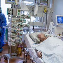 Ligoninėse gydomas 1981 COVID-19 pacientas, 147 iš jų – reanimacijoje