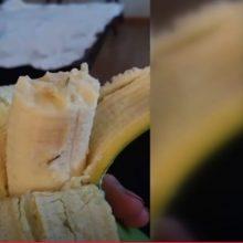 Policija pradėjo tyrimą dėl adatų bananuose