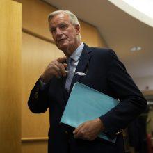 M. Barnier: nėra pagrindo optimistiškai vertinti susitarimo su JK galimybę
