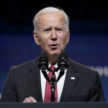 J. Bidenas: laikas užbaigti Amerikos ilgiausią karą Afganistane