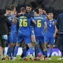 """""""Euro 2020"""": Ukraina nugvelbė paskutinį bilietą į ketvirtfinalį"""