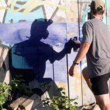 Staigmena gatvės menininkams: Kalniečių parke – gatvės meno festivalis
