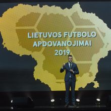Pagerbti 2019 m. Lietuvos futbolo geriausieji