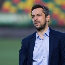 Mėnesio treneriu tapęs M. Čepas – apie įvertinimą ir atmosferą komandoje
