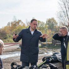 Alytaus meras: apie informacinį štabą, išsekusius ugniagesius ir dovanas
