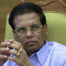 Šri Lankos prezidentas žada žemės 100-ui tūkst. karo aukų