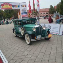 """Ralyje """"Aplink Lietuvą"""" bus galima pamatyti ir istorinius automobilius"""