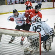 """""""Energijos"""" ledo ritulininkai užtikrintai nugalėjo """"Hockey Punks"""" ekipą"""