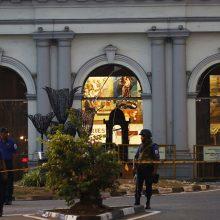 Šri Lankos teroro išpuolių aukų skaičius yra 253, o ne 359, kaip skelbta anksčiau