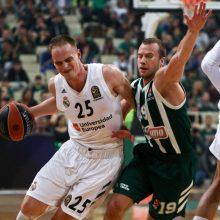 L. Lekavičiaus komanda baigė pasirodymą Eurolygoje