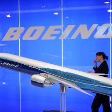 """JAV aviacijos reguliuotojai išdavė """"Boeing 737 Max"""" sertifikatą lėktuvo nepatikrinę"""
