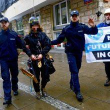 Po protesto Lenkijoje suimta dešimtys aplinkosaugos aktyvistų