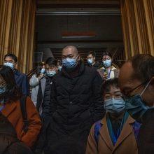 PSO ekspertai lankosi Kinijos ligoninėje, kurioje gydyti pirmieji COVID-19 pacientai