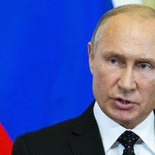 V. Putinas paskyrė referendumą dėl konstitucijos pataisų balandžio 22 dieną
