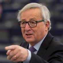 "J.-C. Junckeris: po britų parlamento balsavimo kyla netvarkingo ""Brexit"" rizika"
