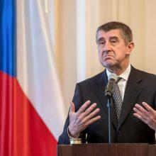 Čekijos premjeras ES viršūnių susitikimo programoje pasigenda pandemijos klausimo