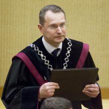 Teisėjų taryba ragina Konstitucinio Teismo vadovą liautis menkinti kitus teismus