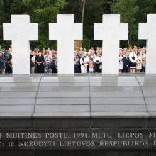 Liepos 31-ąją siūloma paskelbti Medininkų tragedijos diena