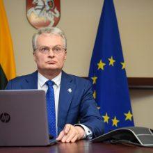 G. Nausėda pritartų ES sienų uždarymui, jei pandemija pasiektų pirmosios bangos lygį