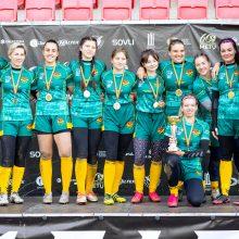 Po pertraukos atnaujintame Lietuvos moterų regbio čempionate triumfavo kaunietės
