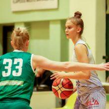 J. Jocytė su Lietuvos moterų krepšinio lyga atsisveikino pelnydama 7 taškus
