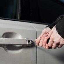 Kėdainiuose pavogtas automobilis BMW, nuostolis – 14 tūkst. eurų