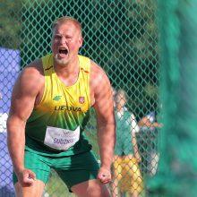 Šalies čempionate aštuoniais metrais varžovus pranokęs A. Gudžius: pritrūko metriukų