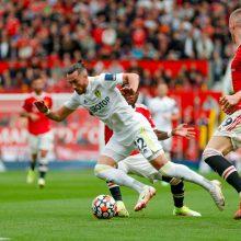 """Žvėriškas """"Man Utd"""" startas: B. Fernandeso """"hat-trick'as"""" ir keturi P. Pogba perdavimai"""