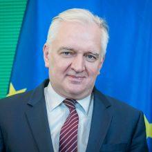 """Buvęs Lenkijos valdančiosios koalicijos partneris sukritikavo """"fanatišką"""" šalies lyderį"""