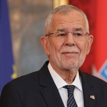 Austrijos prezidentas po rinkimų Baltarusijoje nesveikins A. Lukašenkos