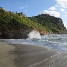 Alanija spalio pabaigoje: saulė, šilta jūra ir daugybė lietuvių