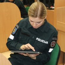 Policijos pareigūnų rengime – vis daugiau naujovių