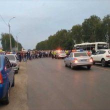 Kruvinos muštynės tarp rusų ir romų: į policiją atvežti 174 žmonės