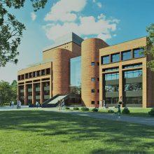 Pristatytas Kauno apskrities viešosios bibliotekos rekonstrukcijos projektas