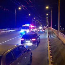 Ant P. Vileišio tilto – specialiųjų tarnybų sujudimas