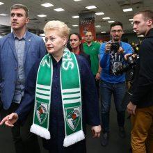 """Šalies vadovai Belgrade stebės """"Žalgirio"""" rungtynes su CSKA krepšininkais"""