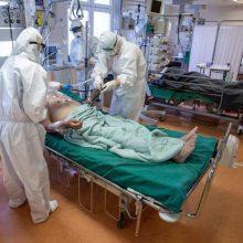 Ligoninėse gydomi 184 COVID-19 pacientai, 21 iš jų – reanimacijoje