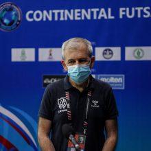 Futsal rinktinės treneris įvertino patirtį Tailande: tik tokiose rungtynėse mes galime augti