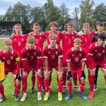 Lietuvos vaikinų U-17 rinktinė neprilygo Švedijos bendraamžiams