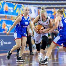 Kurčiosios krepšininkės kausis dėl Europos bronzos