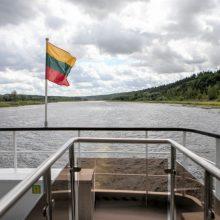 Susisiekimo ministerija aiškinsis galimybes laivybai Nemunu atnaujinti
