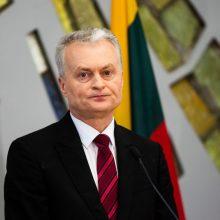 G. Nausėda: eurokomisaro postas neturėtų būti apdovanojimas už nuopelnus