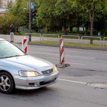 Kaunietis sunerimo: Savanorių prospekte – pavojus vairuotojams