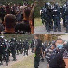 A. Bilotaitės atstovė: protestas Rūdininkų poligone – galimai antivalstybinė veikla