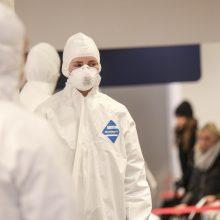 Lietuvoje nustatyti dar šeši koronaviruso atvejai, bendras skaičius – 69