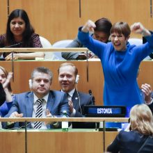 Estija išrinkta JT Saugumo Tarybos nenuolatine nare