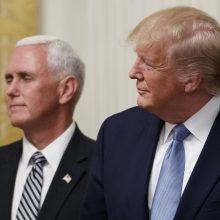 Reikalauja, kad būtų perduota medžiaga apie D. Trumpo ir V. Zelenskio pokalbį